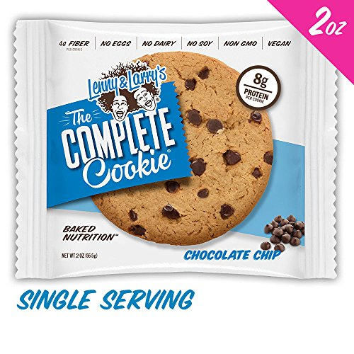 Chip Brownie Cookie Chocolate (Lenny & Larry's The Complete Cookie, Chocolate Chip, 2-Ounce Cookies (Pack of 12))