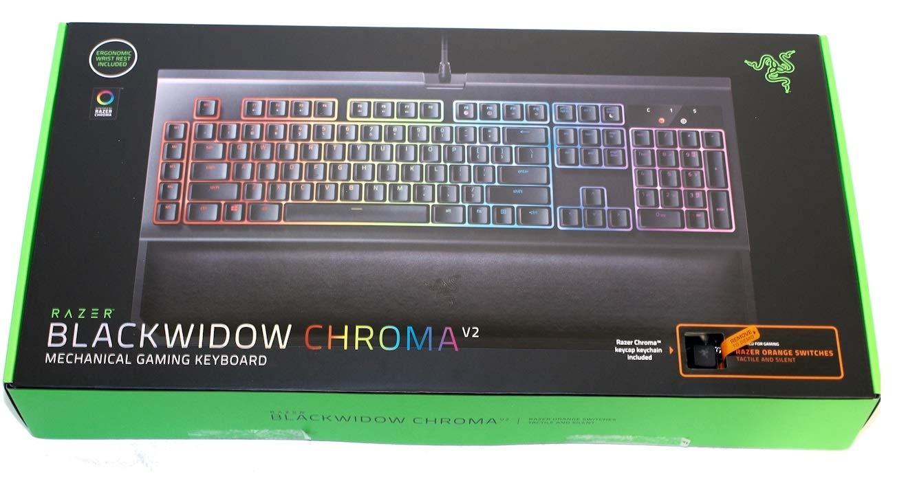 Razer BlackWidow Tournament Edition Chroma V2 Mechanical Gaming Keyboard  (Orange)