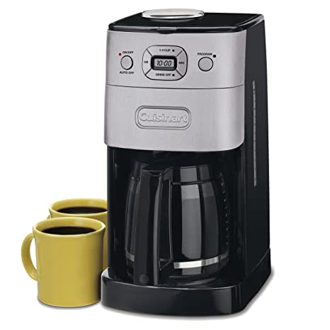 Amazon.com: Cuisinart Moler and Brew - Cafetera de émbolo ...