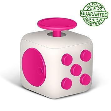 Amazon Fidget Cube Prime White Pink