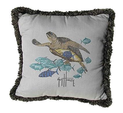 Amazon Com Fiberbuilt Umbrellas Guy Harvey Outdoor Turtle Isle