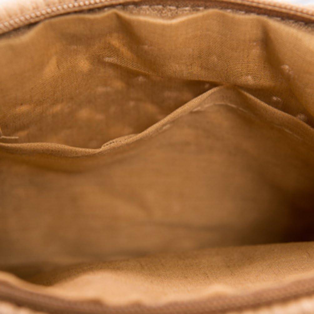 YOUJIA Femmes Sac /à Franges Tiss/é de Paille R/étro /Él/égant Sacs de Plage Bourse Portefeuille Pochettes Clutches Arm/ée Verte, 25 * 20cm