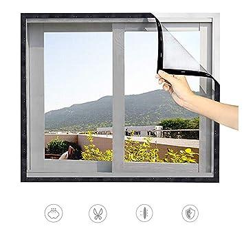 130x150cm Insektenschutz-Fenster Fliegengitter Fenster Fliegennetz Mückenschutz