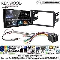 Volunteer Audio Kenwood DDX9904S Double Din Radio Install Kit with Apple CarPlay Android Auto Bluetooth Fits 1999-2001 Volkswagen Golf, 1999-2001 Jetta, 1998-2001 Passat