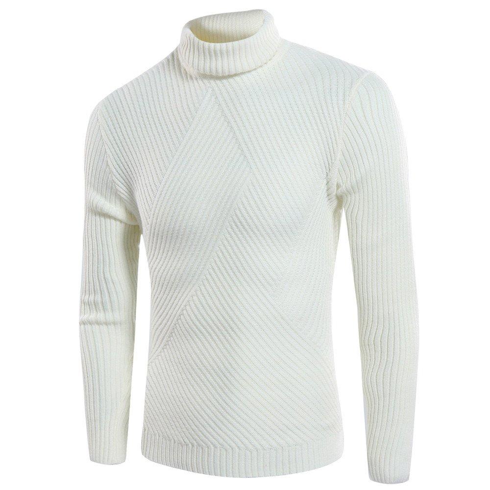 Männer - pullover rollkragen - pullover mens alle spiel - pulli,Beige,XL,