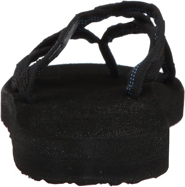 b042907c4662f4 Teva Women s W Olowahu Flip-Flop Mix Black