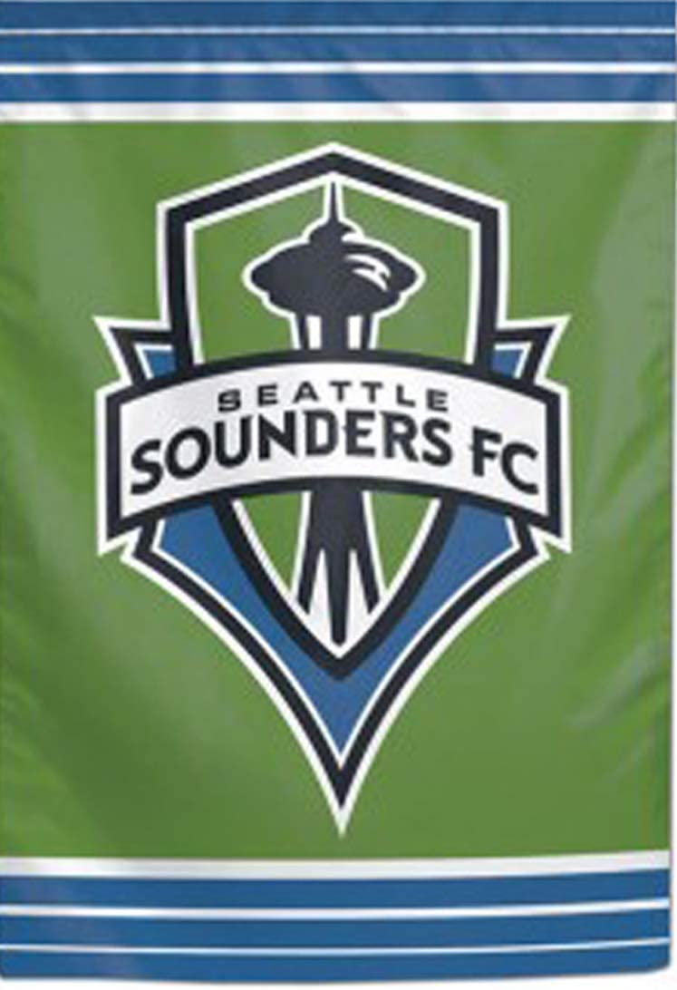 WinCraft Seattle Sounders FC Rave Garden Flag 12.5 x 18 inches Double Sided