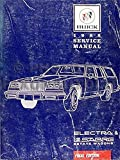 1988 Buick Electra & LeSabre Estate Wagons Repair Shop Manual Original
