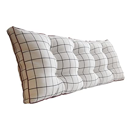 Amazon.com: Cushion Sofa back White Long pillow Easy to ...