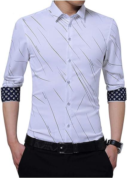 Recién Llegado, Camisa Formal de Talla Grande para Hombre ...