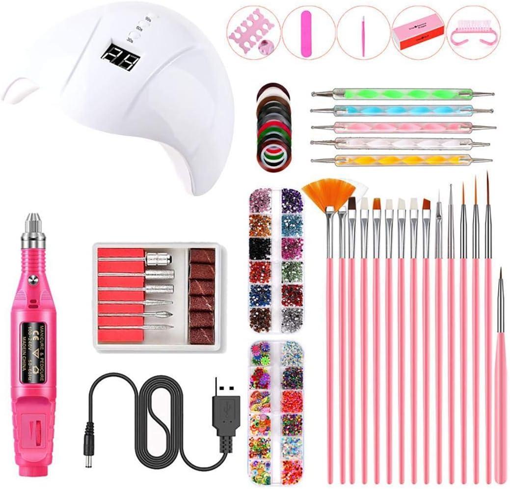 Kit de accesorios para Nail Art Qiopes (2 colores) por 29,99€ con el #código: VQHQEN3H