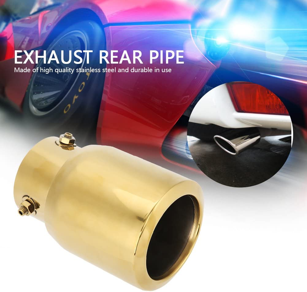 Stainless steel Rear Exhaust Muffler Tip End Pipe For Toyota Camry SE 2017