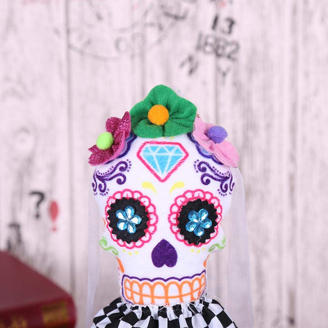 YLCOYO Halloween Swing Skull Ornament Creative Dance Performance Costume Props (A) by YLCOYO (Image #2)