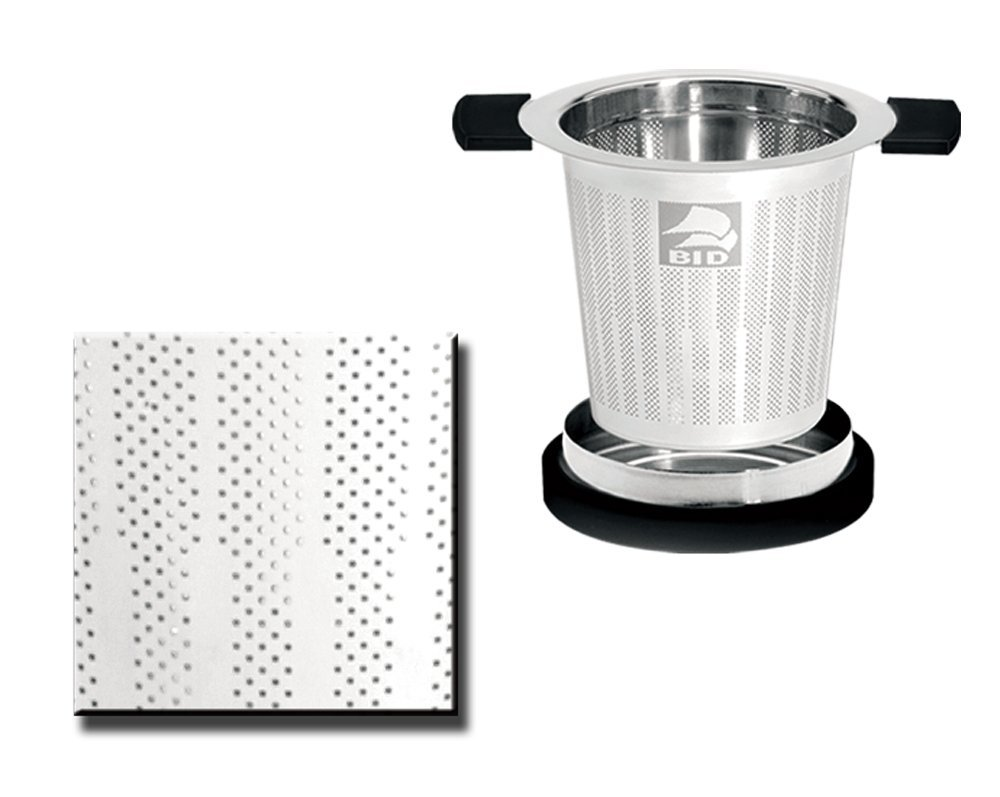 G&H Tea Services Eurotec Laser Mesh Pot and Cup Strainer by G&H Tea Services