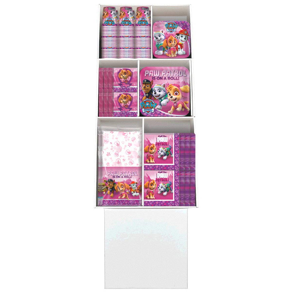 Amscan Floor Display Deal | Paw Patrol Girl Collection | Party Accessory by Amscan (Image #1)