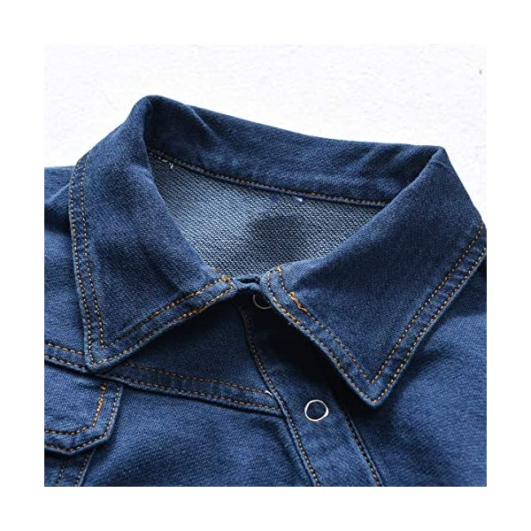 greatmtx - Tutina per neonato, in jeans 3