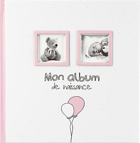 Mon Album De Naissance Fille Coloris Rose