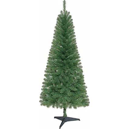 Amazon.com: Holiday Christmas Time Unlit 6' Wesley Pine Artificial ...