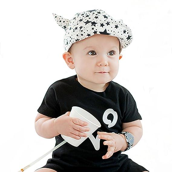 3669a26a865d ISABELLE Bébé Garçon Fille Enfant Kid infantile Chapeau Cap Beret Casquette  de Baseball chapeau pointu
