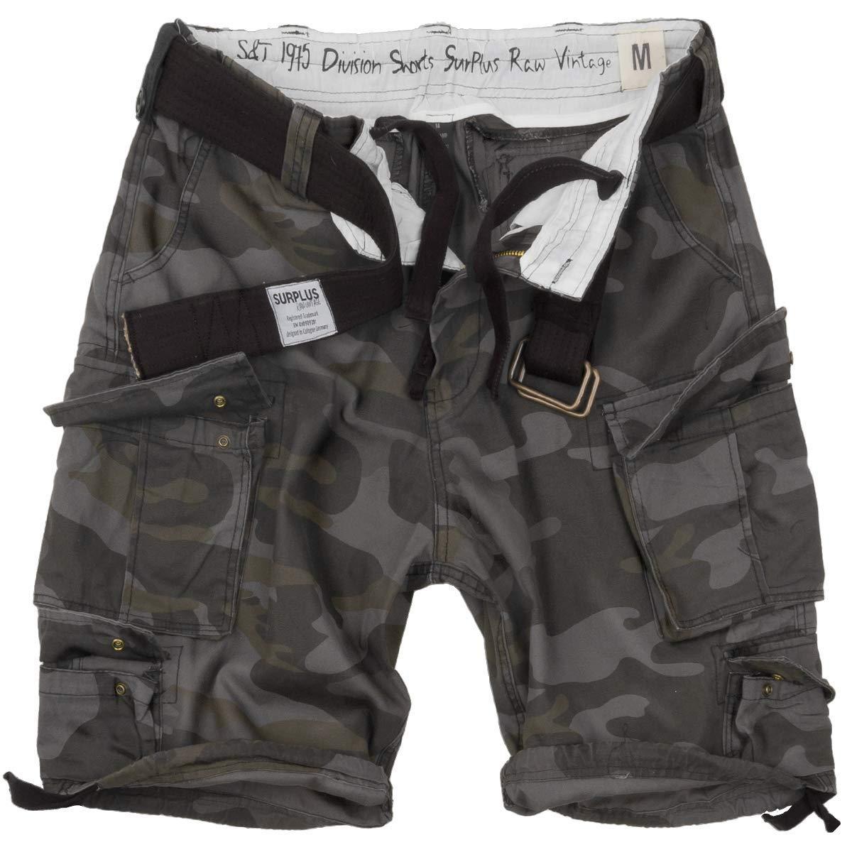 TALLA 5XL. Surplus Division Shorts, Zapatos Elegantes para Hombre