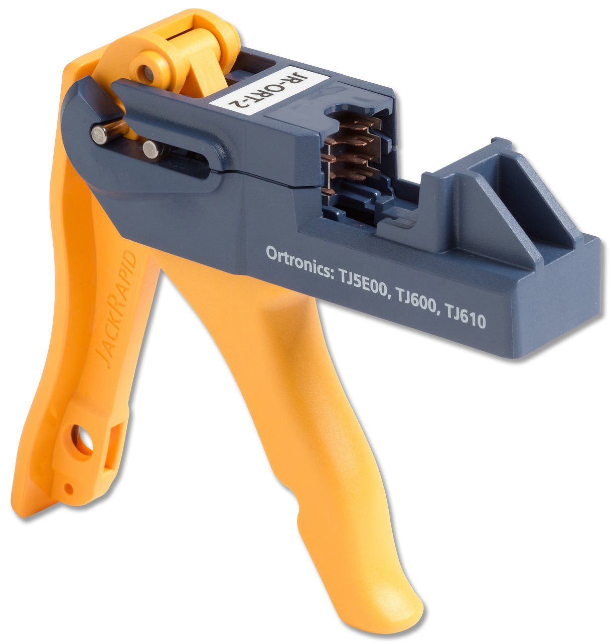 Fluke Networks Jr Ort 2 Jackrapid Punch Down Tool For Ortronics Patch Ethernet Wiring Diagram Tj5e00 Tj600 Tj610 Cable Insertion And Extraction Tools Industrial