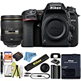 Nikon D7500 DSLR Camera With 18-140mm ED VR Lens - Includes Manufacturer Supplied Accessories (24-120mm Lens, Starter Bundle)