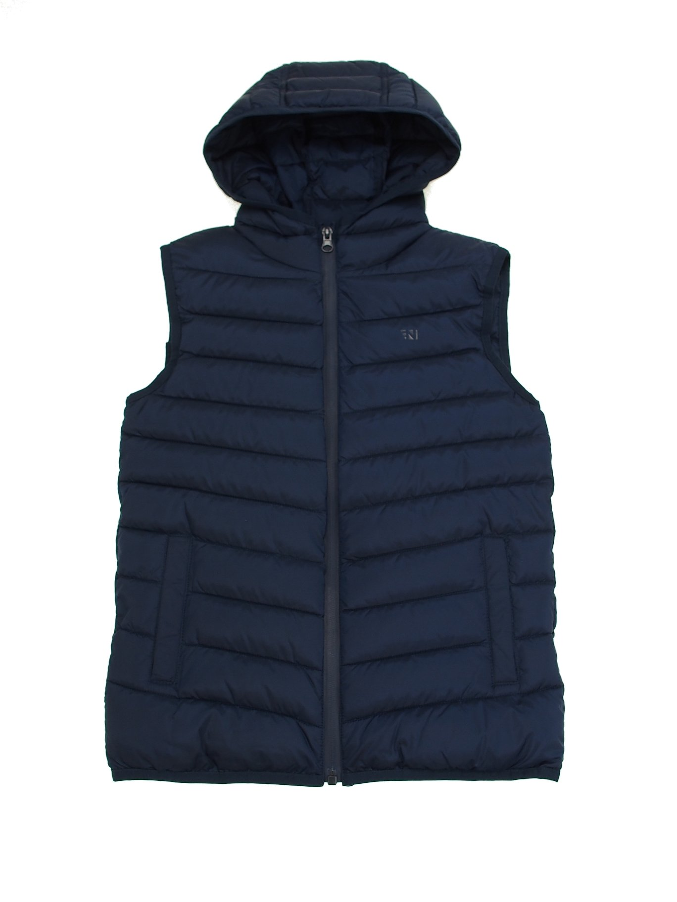 Mayoral 28-06440-077 - Padded Vest for Boys 16 Years Navy