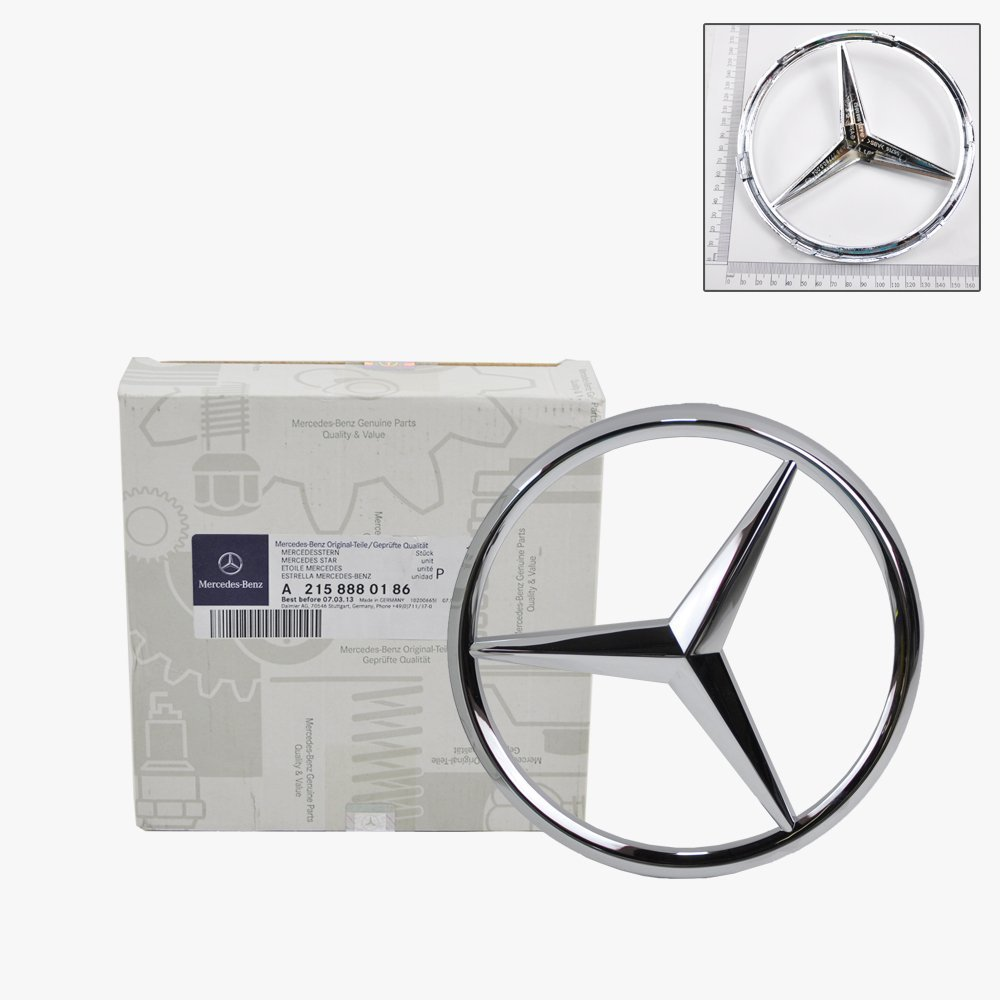 Mercedes Benz Front Grill Star Emblem Genuine Original Ml350 2005 Parts 2150186 Automotive