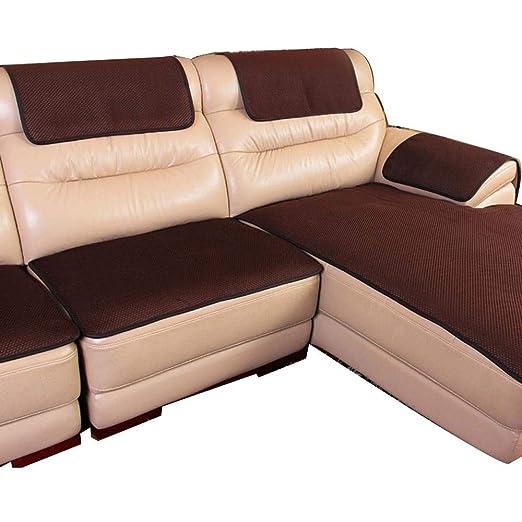 Cubierta de sofá Cojín de sofá de cuero Cojín de sofá for ...