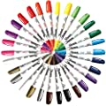 Sharpie Paint Marker Oil Based Fine Point & Medium Point 30 Marker Set