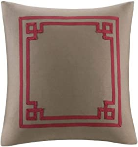 Harbor House Woodland Polyester Fill Pillow, Ease, 20-Inch by 20-Inch