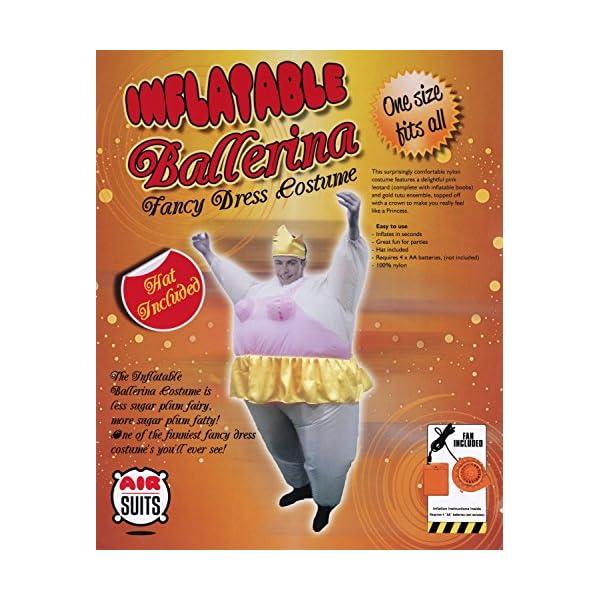 Vestito gonfiabile del partito del vestito del costume del vestito operato dalla ballerina di AirSuits 2 spesavip