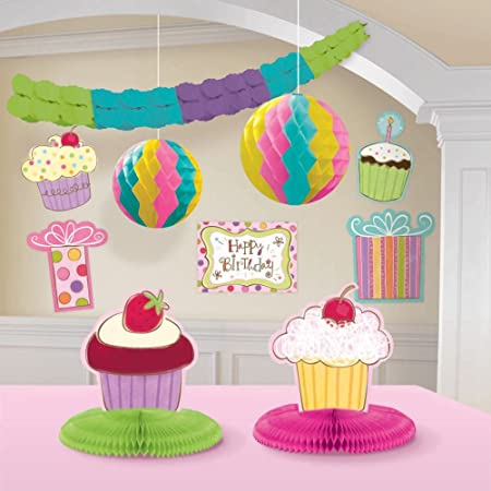 amscan International - Decoración para cumpleaños, 10 Unidades