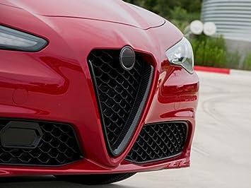METYOUCAR- Parrillas delanteras de fibra de carbono ABS para ...