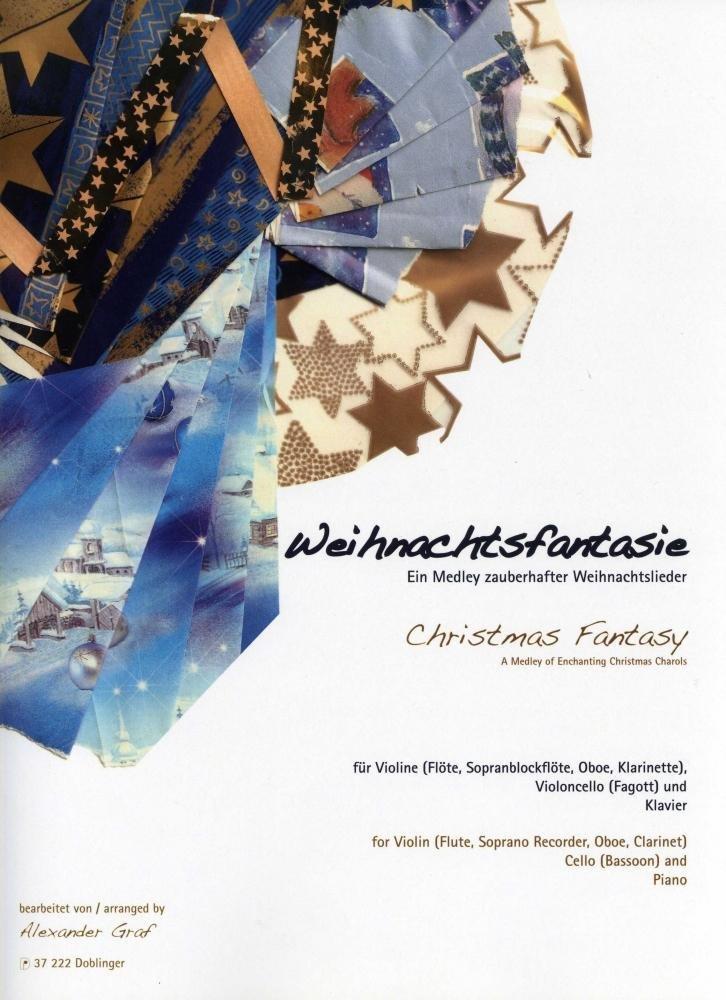 Weihnachts-Fantasie, ein Medley zauberhafter Weihnachtslieder ...