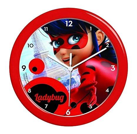 Inception Pro Infinite Reloj de Pared - Ladybug - Decoración de la habitación - Idea de