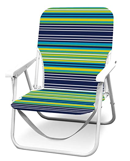 Amazon.com: Caribbean Joe CJ-7720BLST - Silla de playa ...