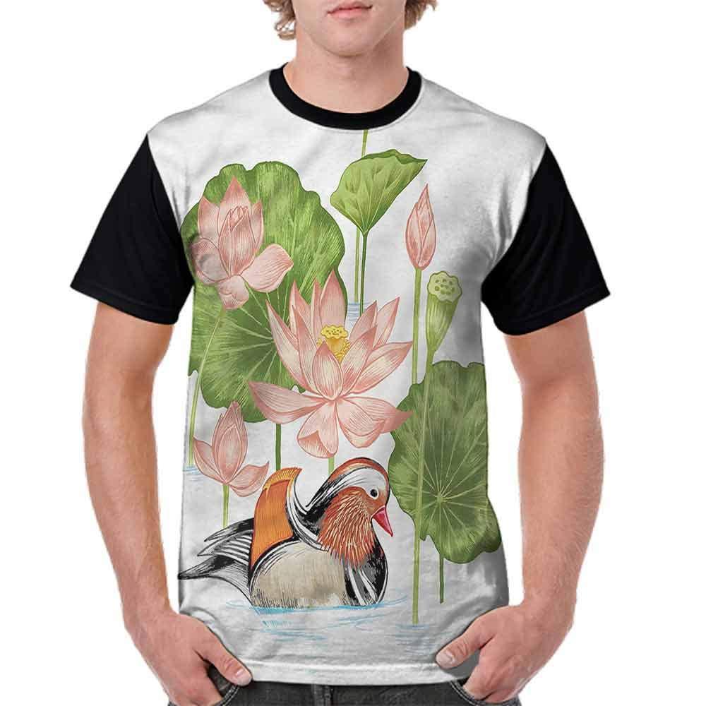 BlountDecor Trend t-Shirt,Eastern History Pattern Fashion Personality Customization