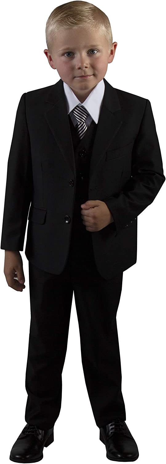 Tuxgear Boys Slim Fit 5 Piece and Black Suit Classic It is very Selling rankings popular Youth