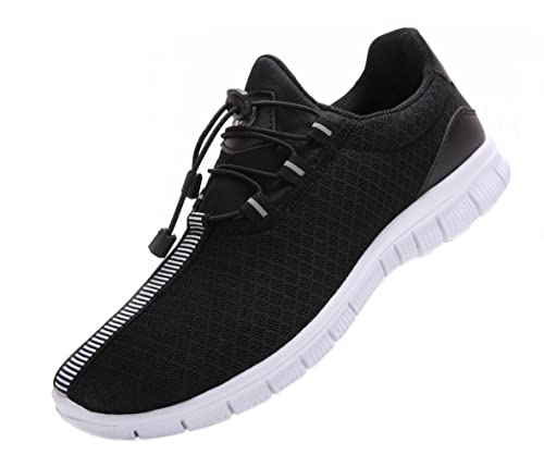 3313155e2abd4 VIPMY Men's Walking Shoes Lightweight Sneakers Mesh Breathable Running  Shoes Casual Athletic Fitness Shoes