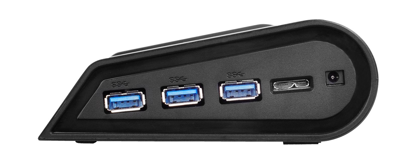 Silverstone Tek Multifunctional Laptop Cooler with Crossflow Fan, Networking Capabilities and 3x SuperSpeed USB 3.0 Ports (NB05B) by SilverStone Technology (Image #7)