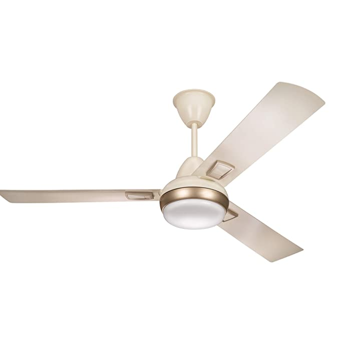 Buy Syska SFL1000 Arty LED 1200mm Ceiling Fan (Ivory) Online at Low Prices in India - Amazon.in