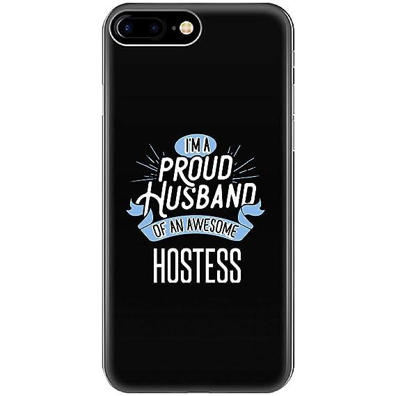 Amazon com: Proud Husband of Awesome Hostess Job Spouse Gift - Phone