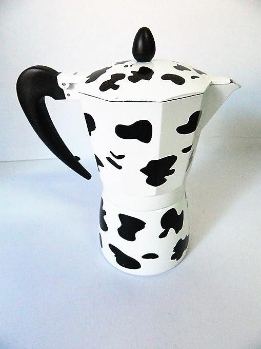 Cafetera italiana Design escenario vaca 1 tazas café cocinas ...