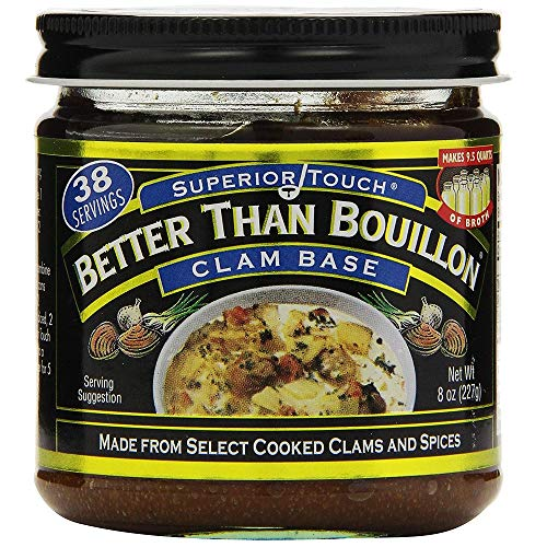 Better Than Bouillon Clam Base -- 8 oz - 2 pc -