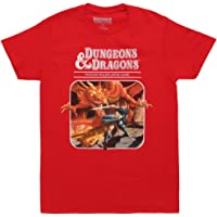 Dungeons & Dragons Fantasy Roleplaying Game Adult T-Shirt