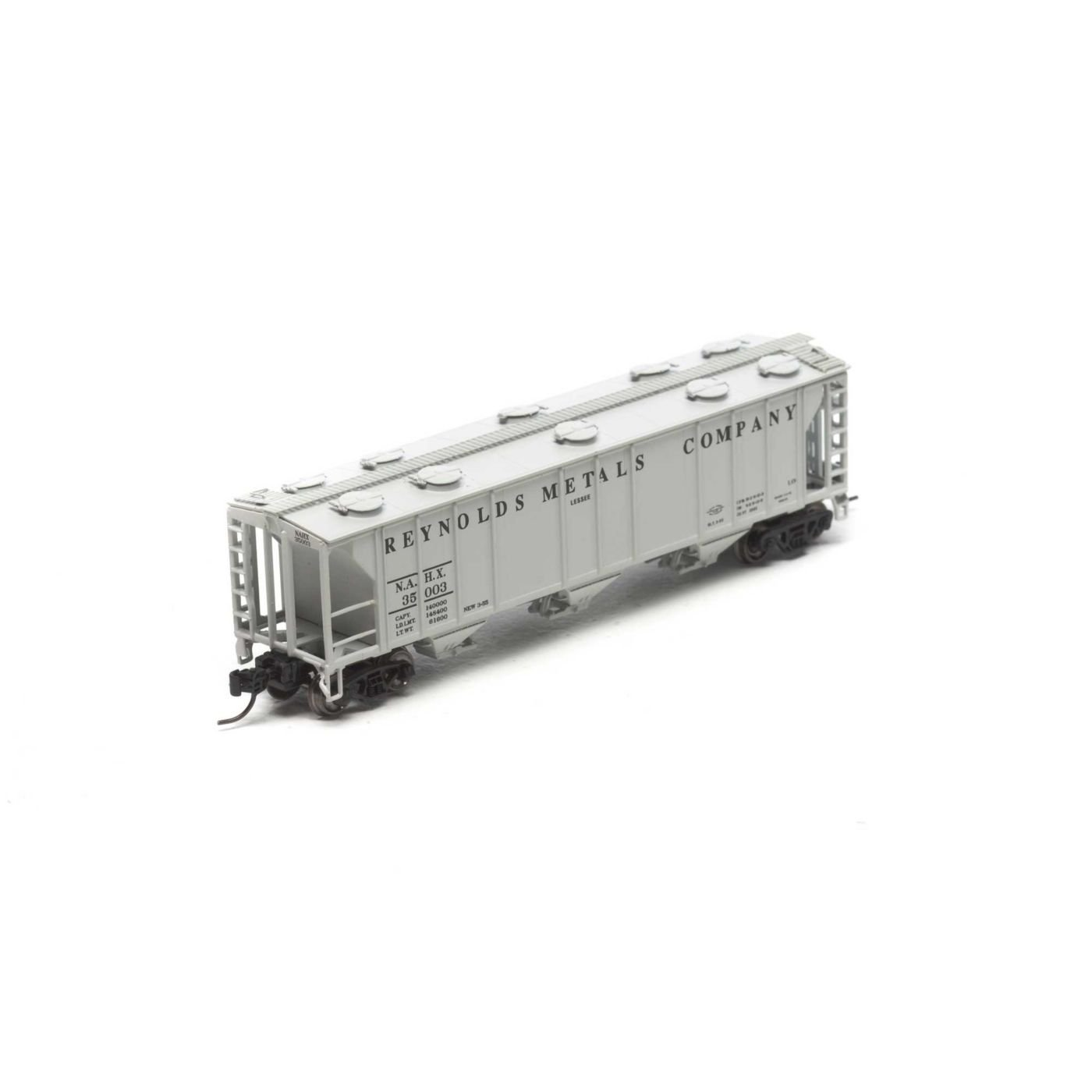 PS - 2 N 2893 3-bay Covered Hopper , NAHX # 35003 B01L0EPFS6