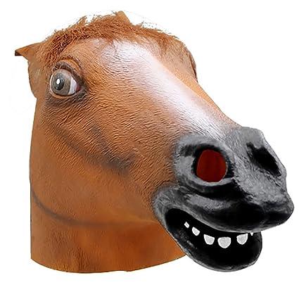 Westeng Látex Máscara de Fiesta Máscara de Halloween Divertida Forma de Animal Fiesta Decoraciones para Mascarada