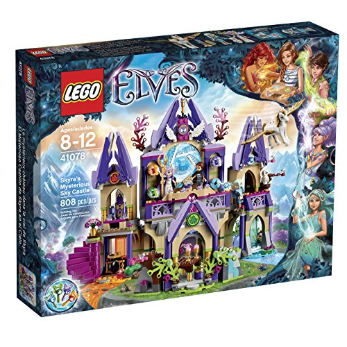 LEGO Elves Skyra's Mysterious Sky Castle Building Kit