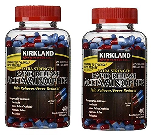 Kirkland Signature Extra Strength Rapid Release Pain Relieve